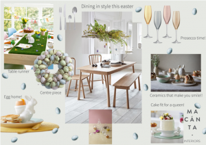 Decorating your Easter brunch table